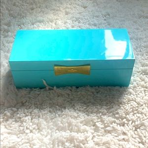 Kate Spade Garden Drive Turquoise Jewelry Box